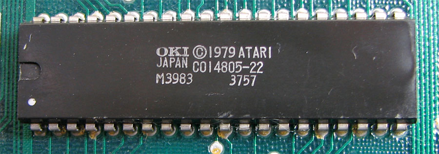 The GTIA chip found in Atari computers and the 5200