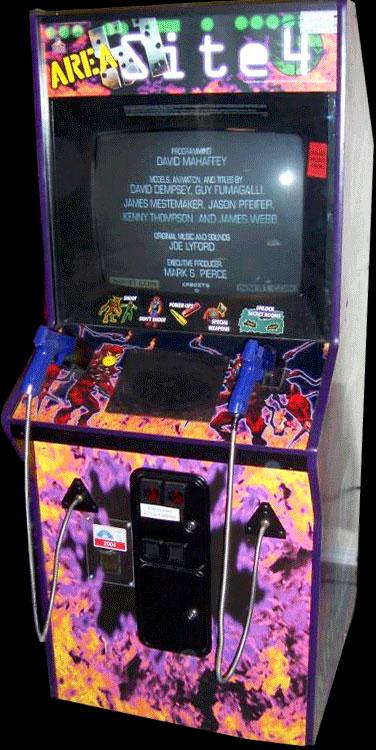 Area 51 let #Atari #arcade fans battle alien zombies via co-op ...