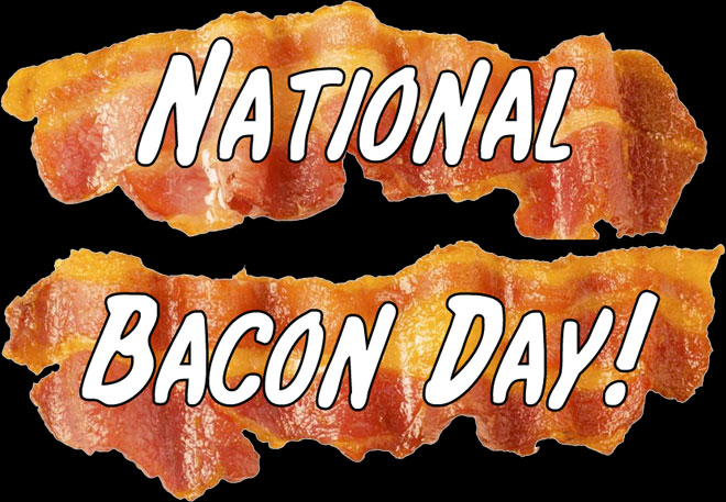 August 31, 2013 is National Bacon Day!