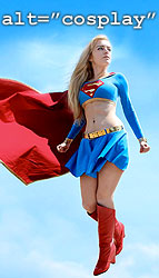 Chiquitita as Supergirl - cosplay