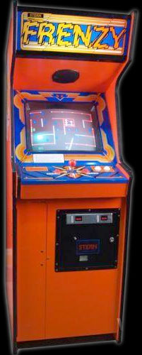 Frenzy arcade game by Stern Electronics