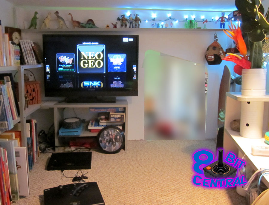 The Game Fortress Is A Custom Designed Story RetroGaming Bed - Retro games room ideas
