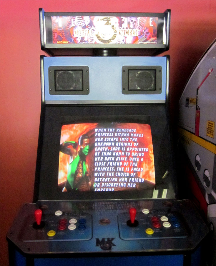 Mortal Kombat 3 at The Holiday Hill Arcade on Cape Cod