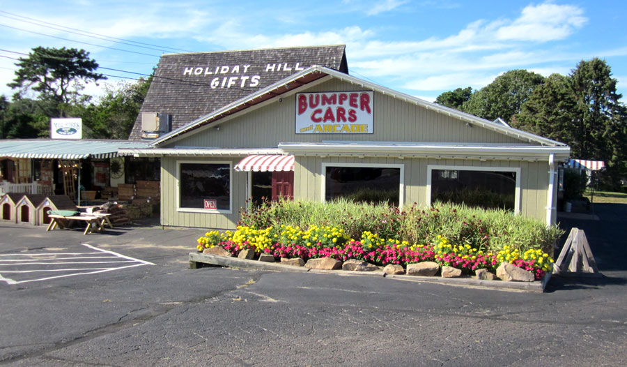 The Holiday Hill arcade and Mototr Inn on Cape Cod