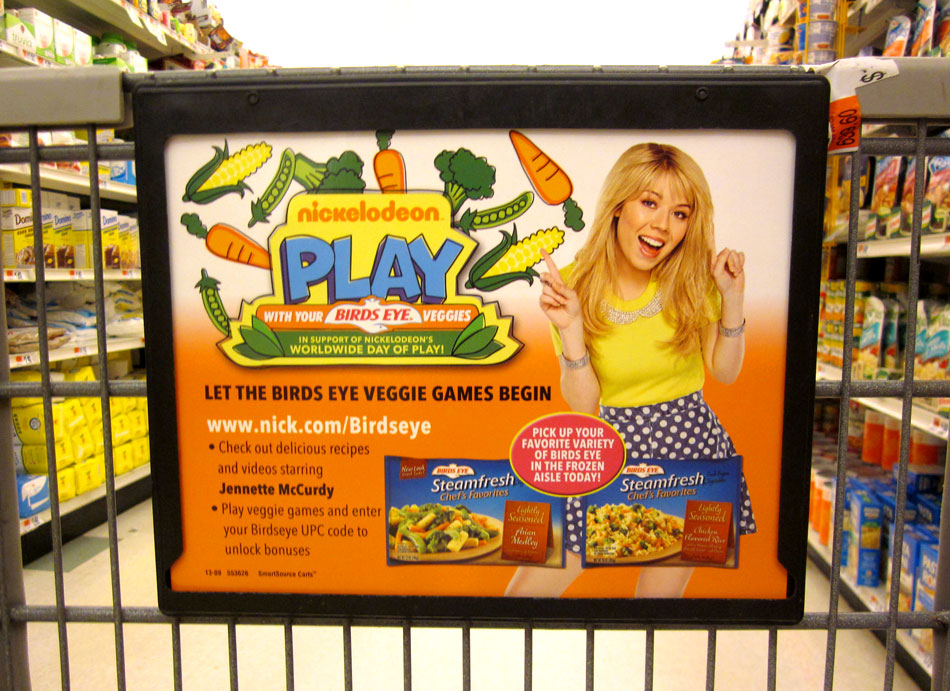 Nickelodeon Partners With Frozen Vegetable Brand Birds Eye for Play With Your Food campaign