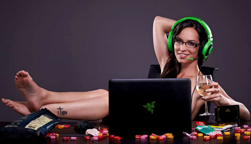 Pam Horton, Playboy Playmate and Gamer Girl