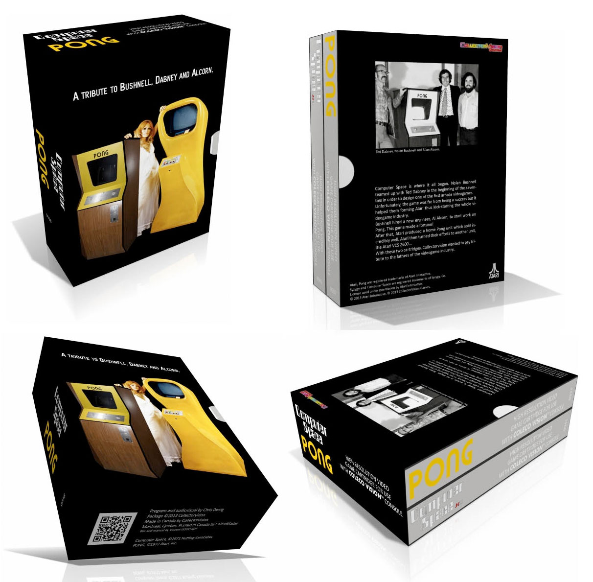 CollectorVision presents the #Pong & Computer Space Box Set for