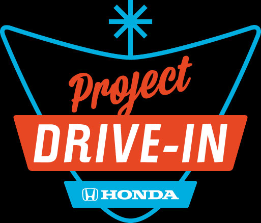 Project drive in - save the drive-in project logo