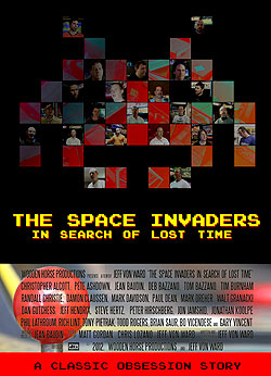 The Space Invaders: In Search of Lost Time film movie poster
