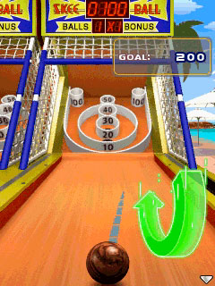 Mobile Skee-Ball game made by Skee_Ball Inc