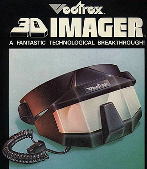 The Vectrex 3d Imager from 1984