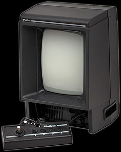 The Vectrex video game console