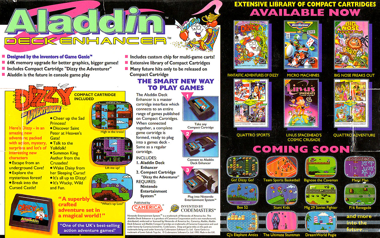 Aladdin Deck Enhancer ad