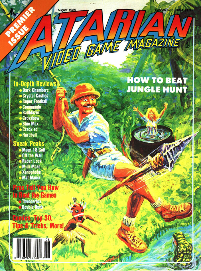 """Atarian Video Game Magazine was yesterday's """"social media"""" for"""