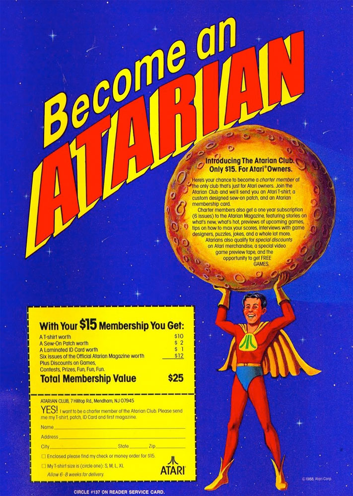 "Atarian Video Game Magazine was yesterday's ""social media"" for"