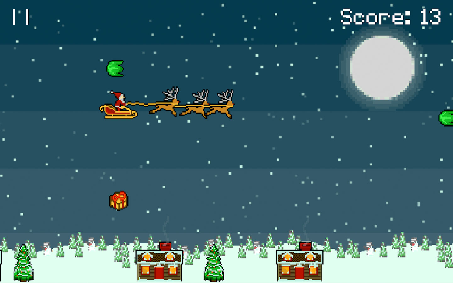 Droppin' Santa is an 8-bit #Retro Xmas game for Android