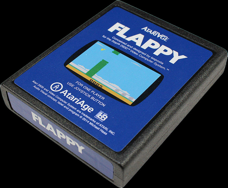 Flappy for the Atari 2600