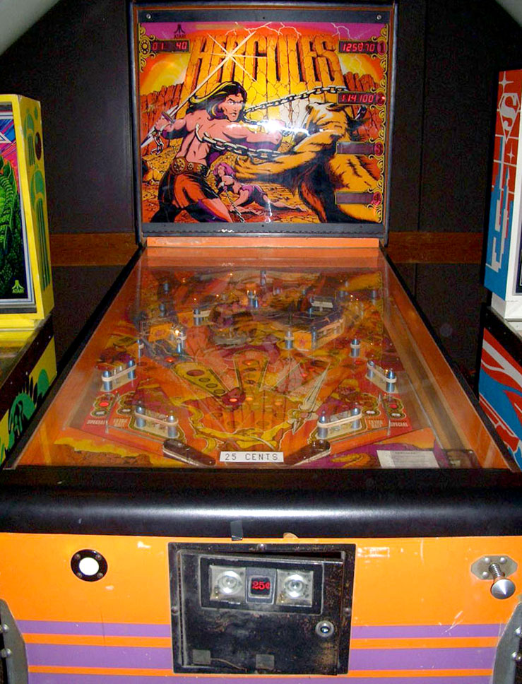 With An 18 Square Foot Playfield Atari S Massive