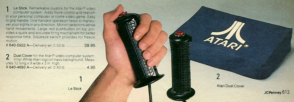 DataSoft's Le Stick in the 1982 JC Penny Christmas Catalog