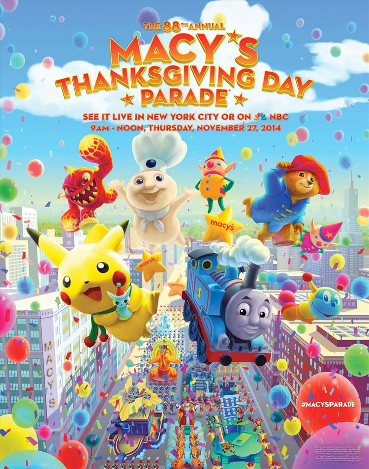 Macy's Thanksgiving Day Parade ad 2014