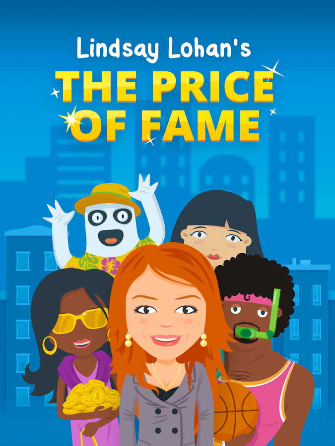 Lindesy Lohan's mobile game- The Price Of Fame