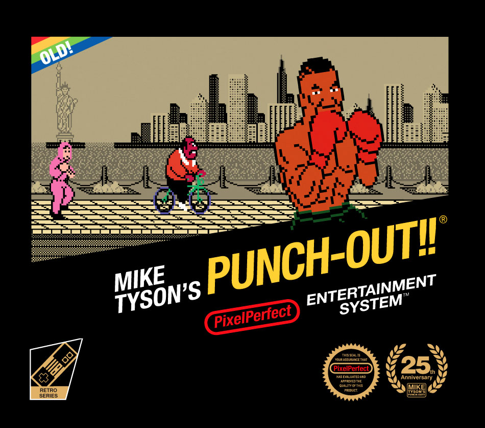 Mike Tyson's Punch-Out book from Pixel Perfect