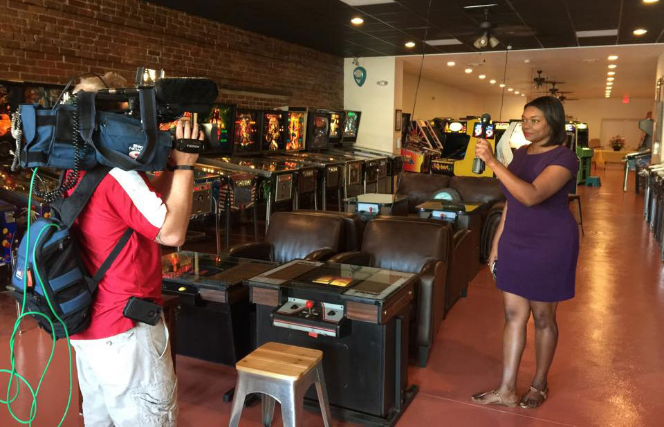 Replay Amusements Museum TV news interview