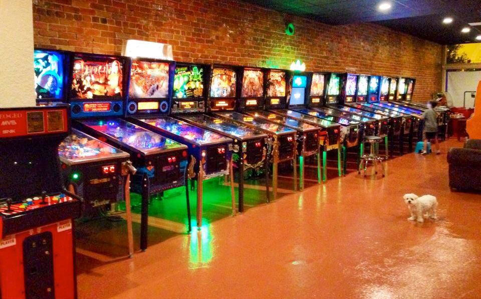 Replay Amusements Museum's pinball tables
