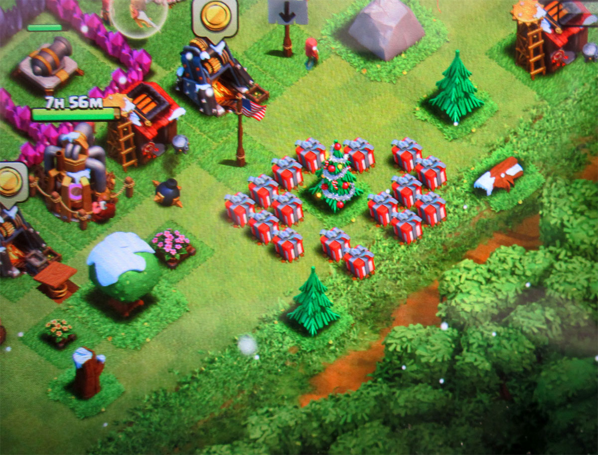 supercell u0027s clash of clans put some bonus elixir under the