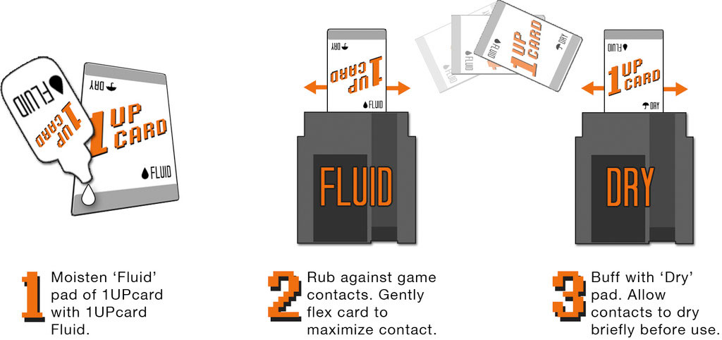 1 UP Card cleaning system