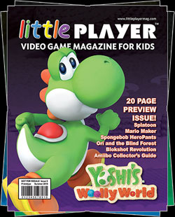 Little Player magazine seeks a niche with gamer kids who's parents