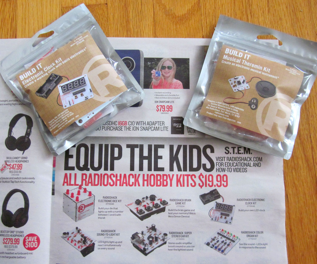 Radioshack's hobby kits take me back 2 decades to when I loved their