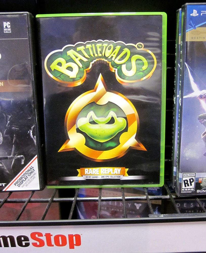 Were Uncovering A Wealth Of Retrogaming Trends Peculiarities In Remote Control Circuit Board Promotiononline Shopping For Promotional This Battletoads Case Was On Shelf Gamestop As Promo Rare Replay