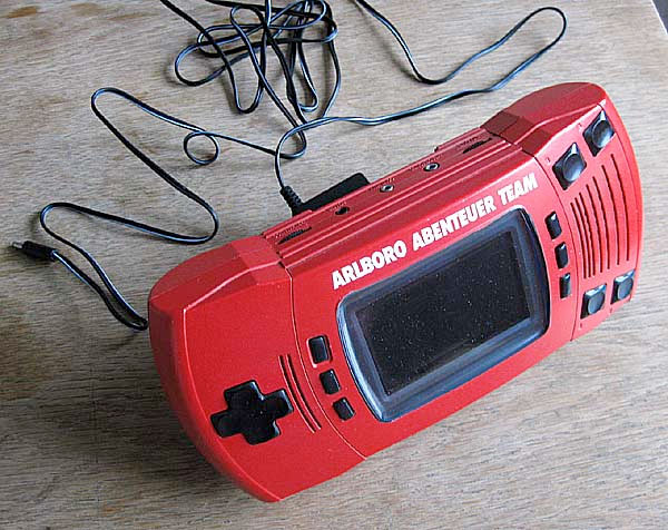 Marlboro Adventure Team's red Atari Lynx
