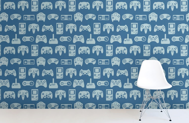 Retro Game Wallpaper Murals