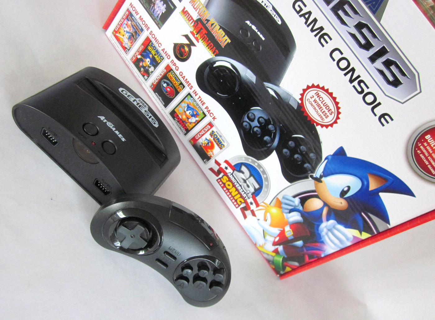 Check out the 2016 genesis classic game console from - Atgames sega genesis classic game console game list ...