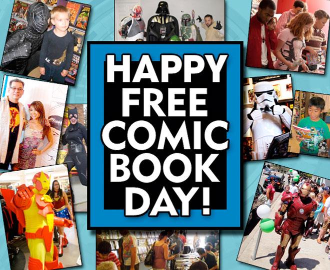 free comic book day 2016 comic list