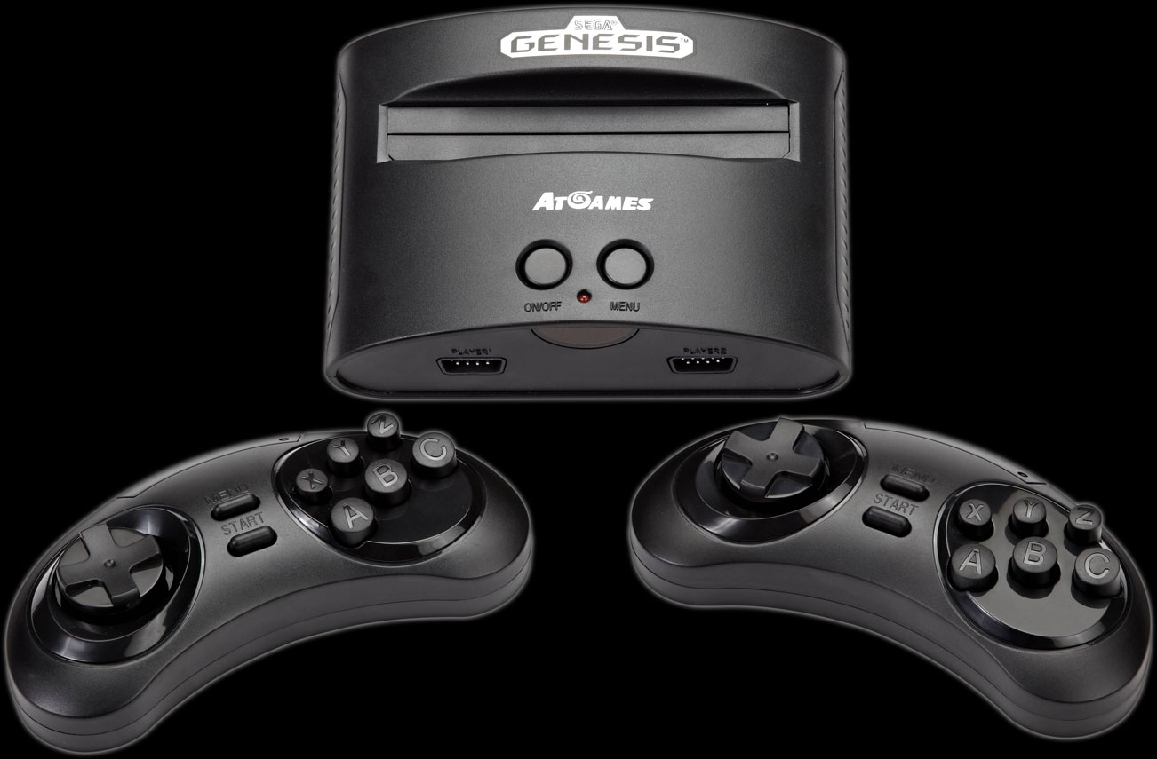 2016 SEGA Genesis Classic Game Console from AtGames