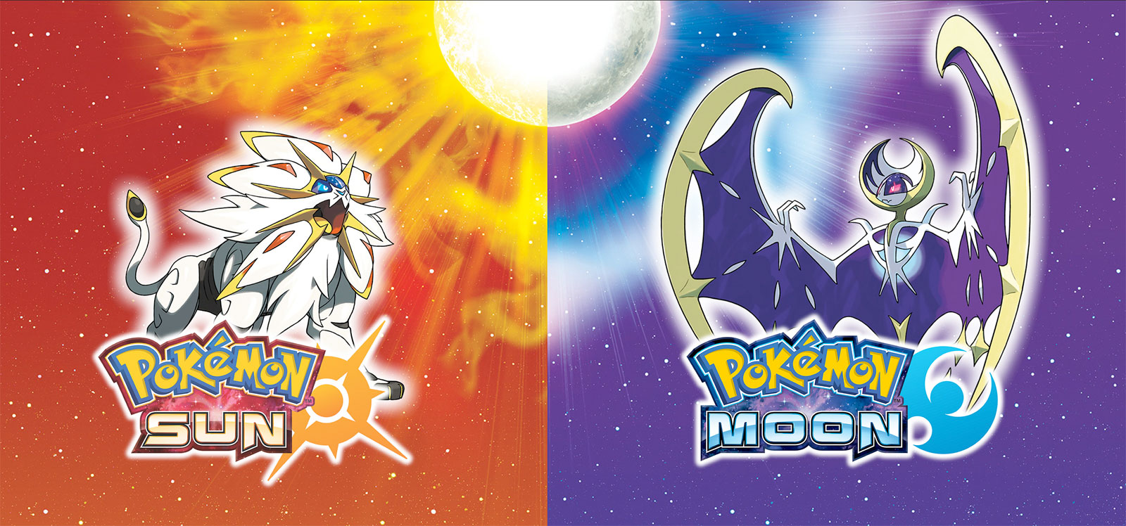 Pokemon Sun and Moon games