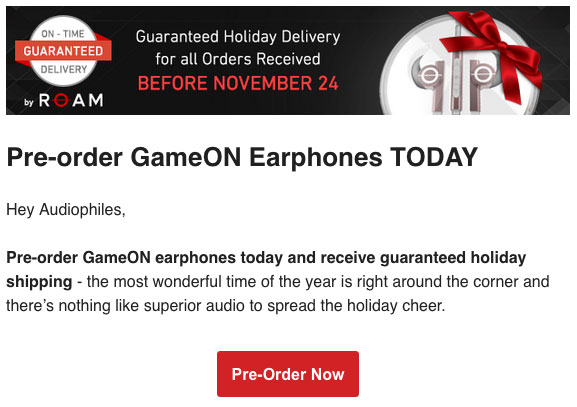 GameON by Atari earphones pre order