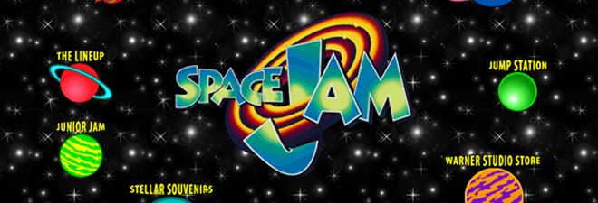 Origineal Space Jam website