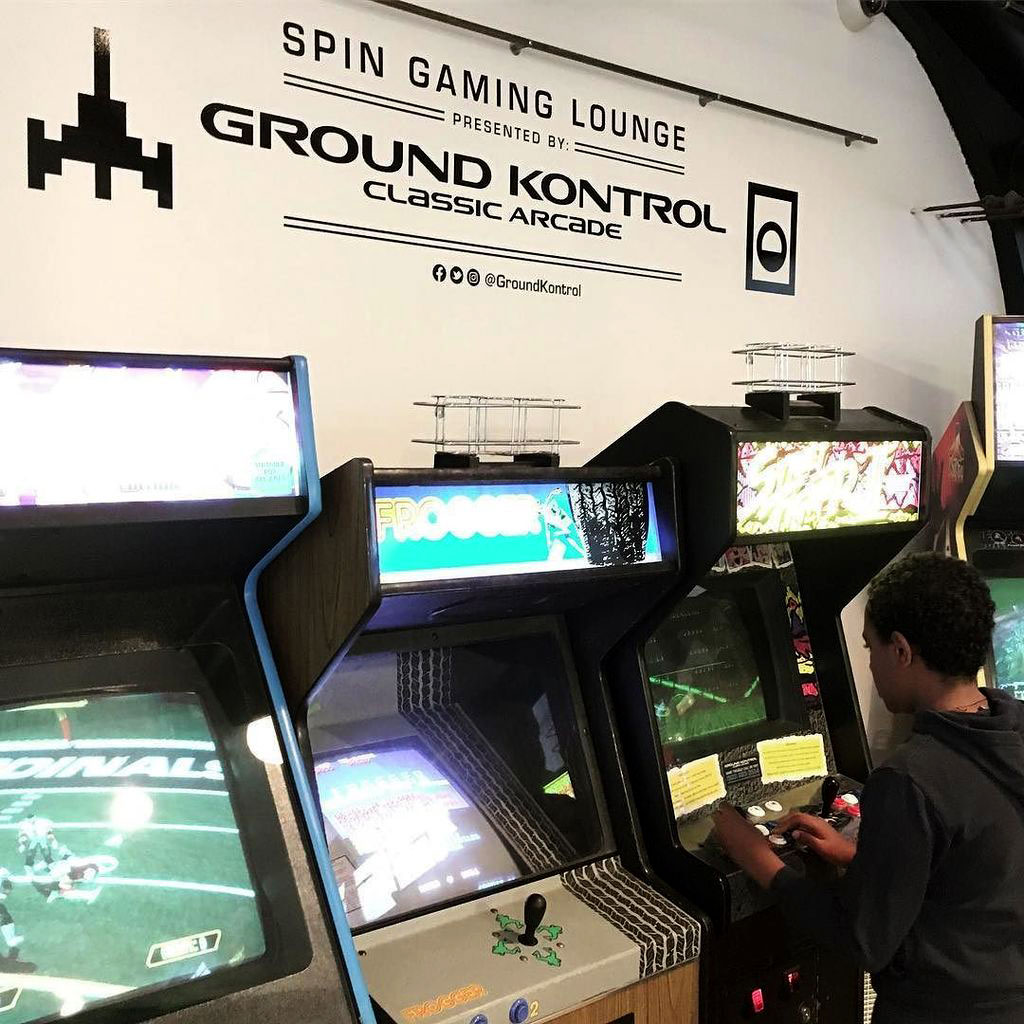 Spin Laundry partners with local Ground Kontrol arcade
