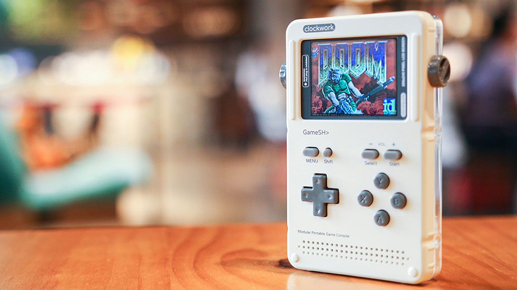 GameShell is an upcoming portable LINUX game console for playing
