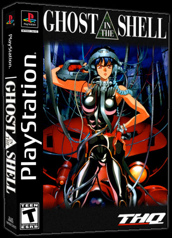 Ghost In The Shell video game for PlayStation
