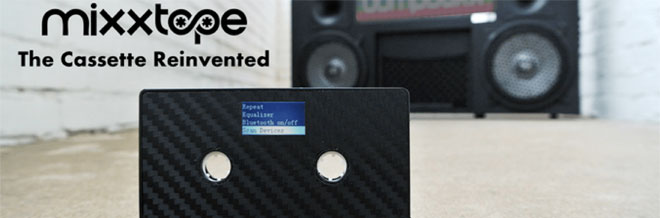 The MixxTape reinvents the cassette tape