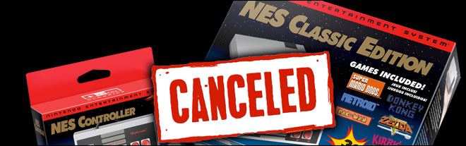 NES Classic Edition was cancelled