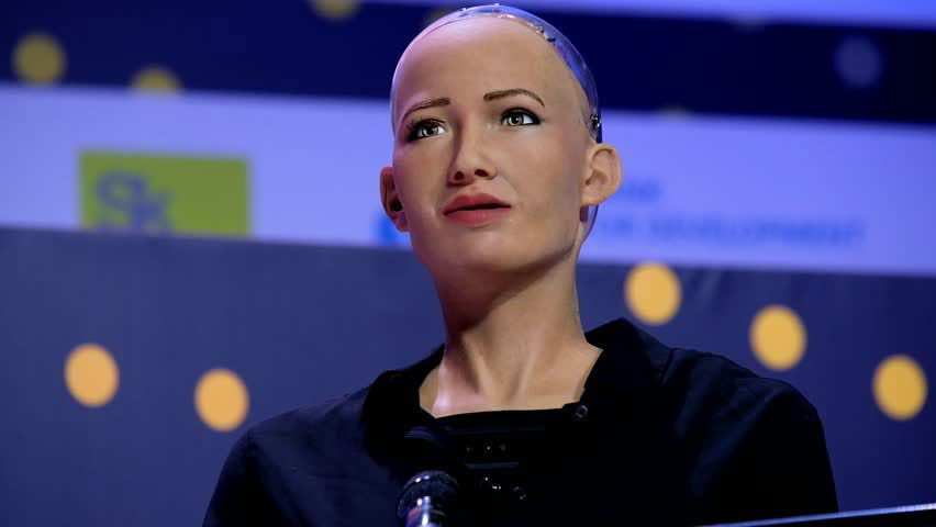 ai robot sophia is self aware has saudi citizenship and might