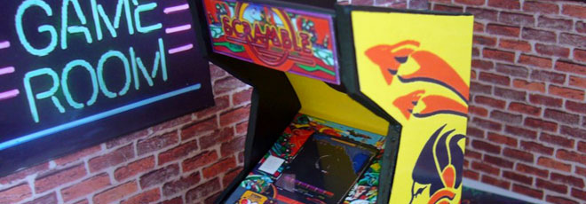 Frugal Puzzle Piece Arcade Game Flyer Arcade, Jukeboxes & Pinball Collectibles