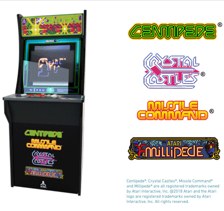 Arcade1Up creates a home retro arcade experience to be sold at local