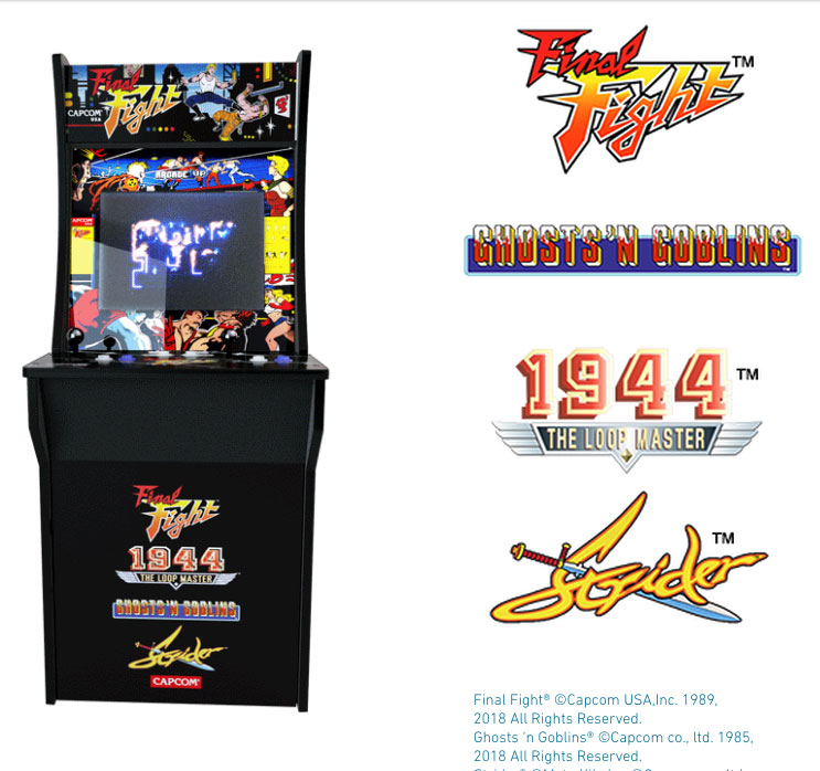 New Defender 2018 >> Arcade1Up creates a home retro arcade experience to be sold at local chain retailers | 8-Bit Central